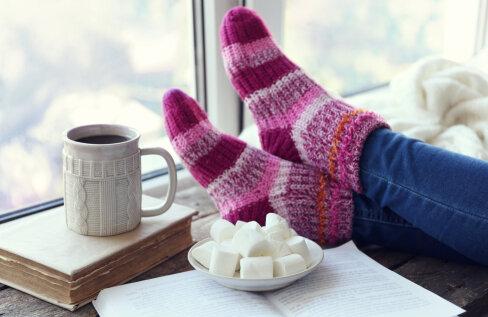 Miks panna külmal talvel üks sokk minutiks mikrolaineahju?