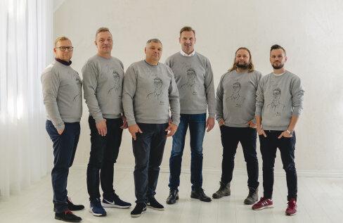 Ainult meestele! Karl Korsar ja Marat disainisid pusa, mis kannab eriti olulist sõnumit