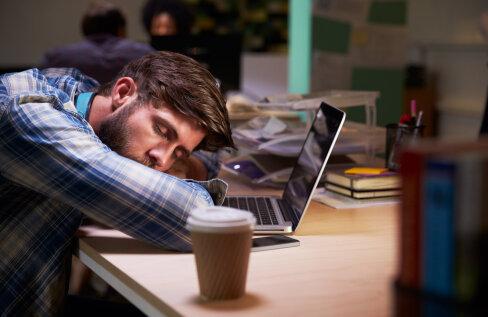 Unevõlg ja öötöö – mida selline eluviis kehaga teeb?