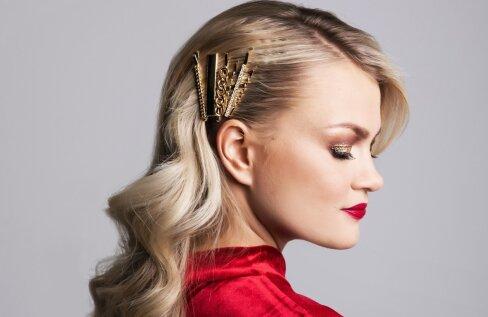 Glamuurne ja pilkupüüdev välimus 15 minutiga: õpi selgeks uued soengu- ja meiginipid, et olla pidude säravaim täht