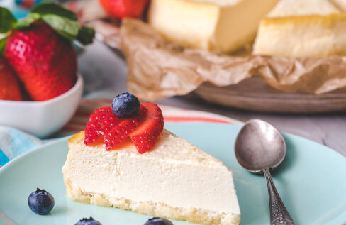 Tervislik küpsetis   Gluteenivaba toorjuustukook, kus pole ka suhkruga liialdatud