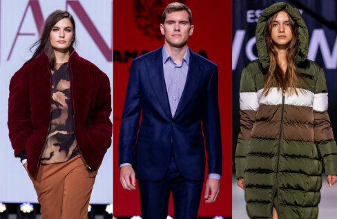 FOTOD JA ÜLEVAADE | Tallinn Fashion Weeki kolmandal päeval näidati stiilseid ülerõivaid, pehmeid kudumeid ja valatult istuvat klassikat