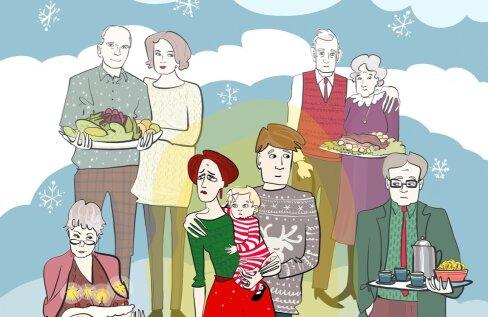 Ma vihkan jõulupühi pärast laste sündi! Pakime lõputult suvalist träni kingitusteks, sõidame mitu päeva Eesti ühest otsast teise, lapsed nutavad autos, kõigil on närvid läbi