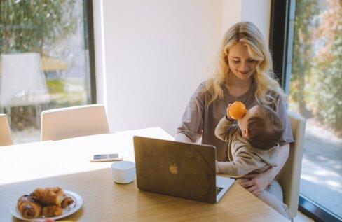 5 nippi, kuidas laste suvevaheajal kodukontor edukalt toimima panna