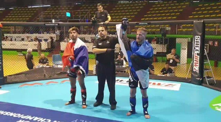 Kokamägi ja Meier võitlesid MMA Euroopa meistrivõistlustel end veerandfinaali