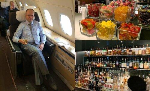 Мир привилегий на борту: как житель Эстонии стал клиентом самого элитарного авиаклуба мира