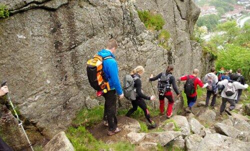 Seitsme mäe matk: igale bergenlasele kohustuslik, vingemad läbivad selle joostes