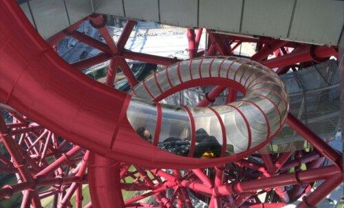 Londoni olümpiarajatisse Orbit Towerisse ehitatakse maailma pikim liurada