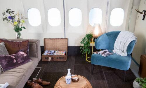 KLM pakub AirBNB-s ööbimiseks lennukit: magada võib, aga lennata ei tohi