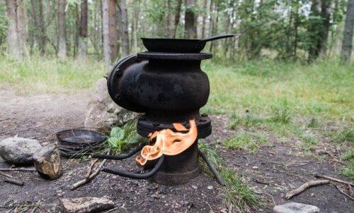 Чудеса Эстонии: остров, где посреди леса стоит единственная в стране бесплатная газовая горелка