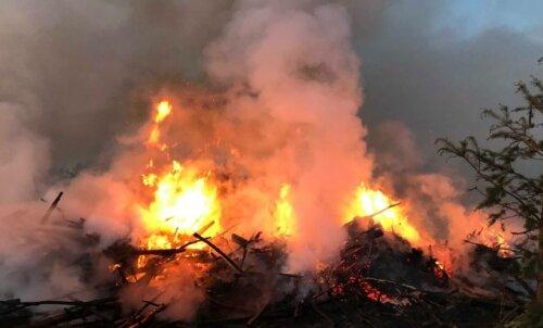 В Португалии бушуют пожары невиданных масштабов