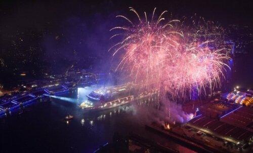 EKSKLUSIIVNE | Itaalia kõrgseltskonnaga Euroopa suurima kruiisilaeva ristimispeol: pardal viibib särav Sophia Loren ja voolab kõige peenema mulliga šampanja