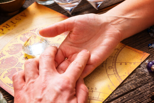 Hiromantia saladused: pöidla kuju näitab, kas suudad dieeti pidada