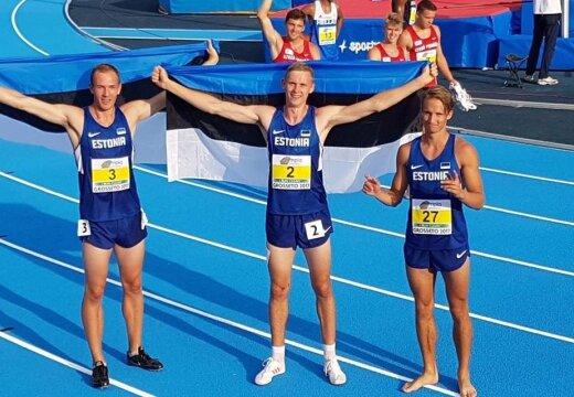 VÄGEV! Johannes Erm ja Karel Tilga tõid Eestile kümnevõistluses kaks EM-medalit!