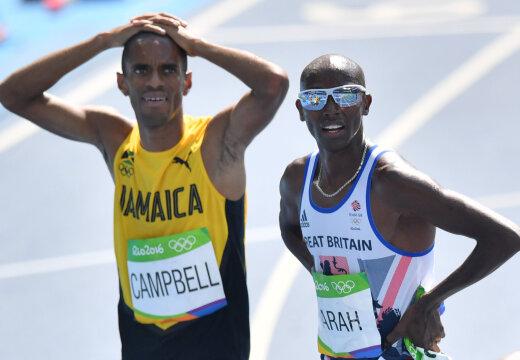 Jamaika jooksja meenutas staadionil kokku kukkumist: arstid ütlesid, et olin praktiliselt surnud