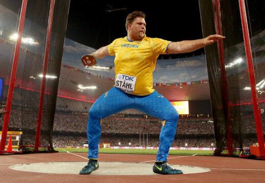 Rootsi kettaheitja näitas MM-i eel võimast vormi