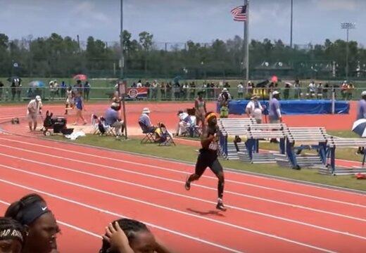 VIDEO | 13-aastane imejooksja näitas 400 m distantsil suurepärast aega
