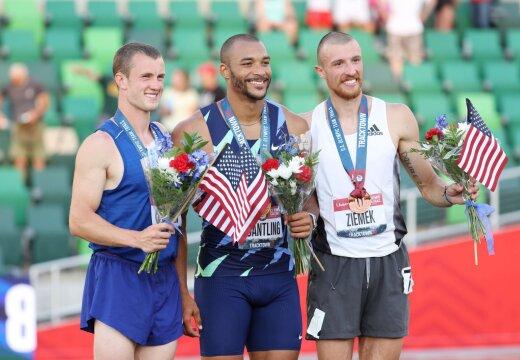 Eesti koondise kümnevõistlejate eduloos suurt rolli mänginud treeneri õpilane võitis USA olümpiakoondise katsevõistlused