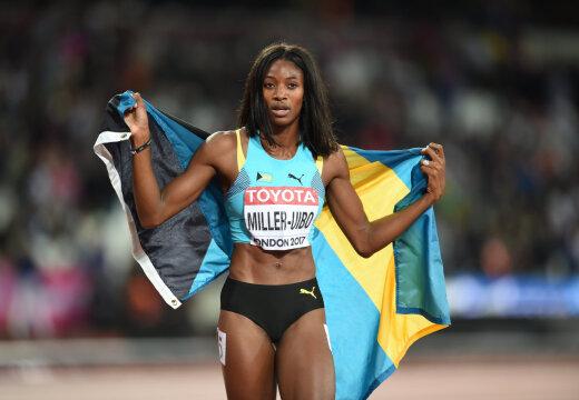 Võõral distantsil jooksnud Miller-Uibo jäi Teemantliiga etapil viimaseks