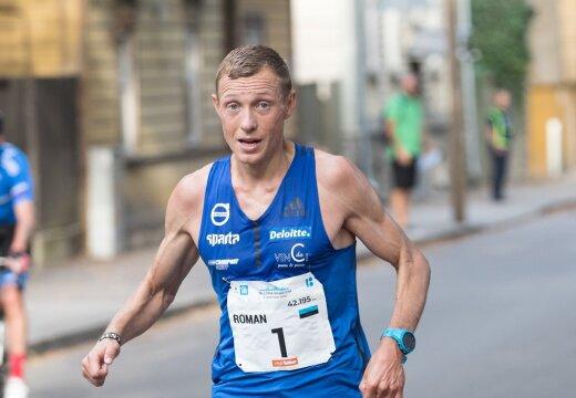 Roman Fosti teenis Riia maratoniga MM-pileti