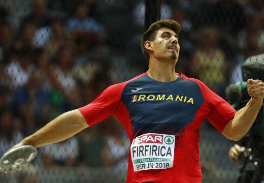 Meeste kettaheide sai ootamatu medalinõudleja juurde: rumeenlane püstitas võimsa rekordi