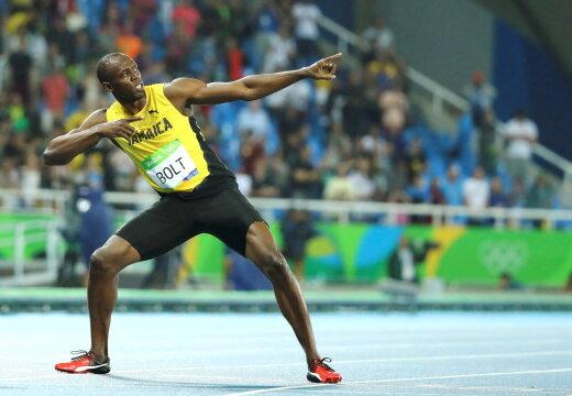 FOTO   Usain Bolt sai teist korda isaks