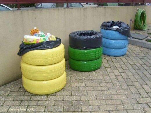 FOTOD: Ära viska vanu rehve ära! Geniaalsed ideed, kuidas neid hoopis taaskasutada