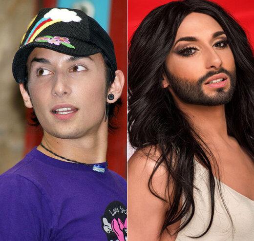 GALERII: Milline nägi Eurovisiooni staar Conchita varem välja?
