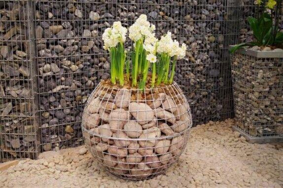 Põnev ja uudne aiakujunduselement kevadmessilt – kivikorvid