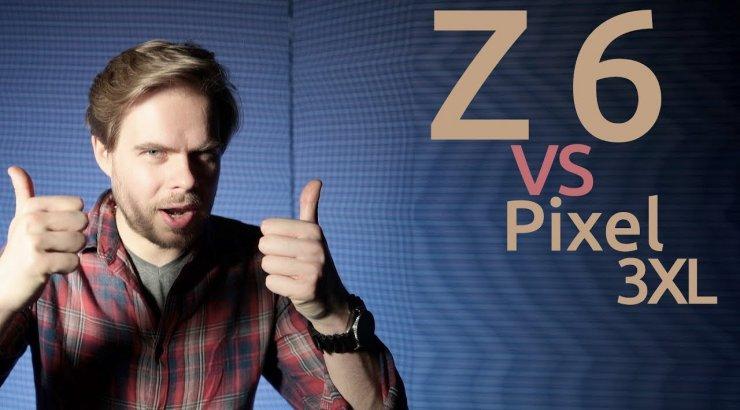 VIDEO | 1000 eurone telefon vs 2400 eurone kaamera: Google Pixel 3XL versus Nikon Z 6