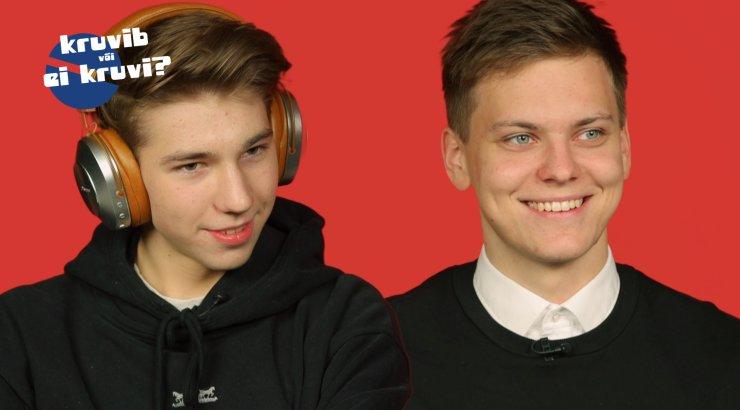 KRUVIB VÕI EI KRUVI? | villemdrillem ja Pluuto analüüsivad Eesti parimaid laule: huvitav, et inimesed kuulavad veel sellist muusikat