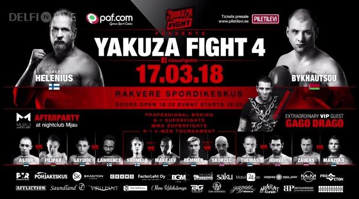 ca41eff3a3e TÄISPIKKUSES | Yakuza Fight 4 - Delfi TV