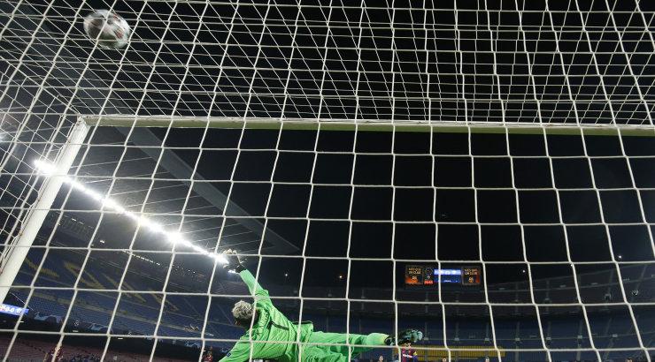 Väike lohutus: Messi viigistas Raúli Meistrite liiga rekordi