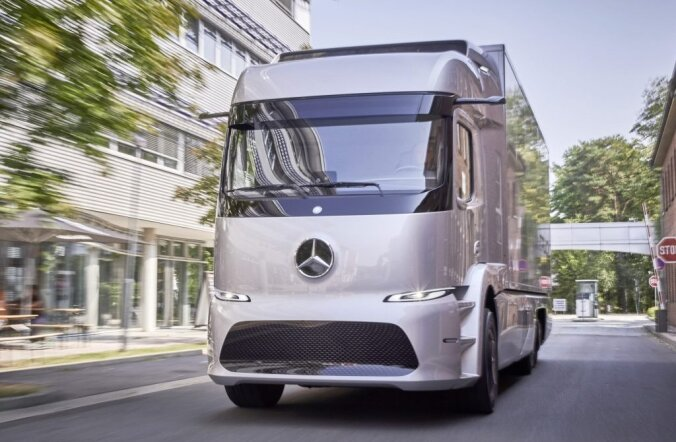 Urban eTruck, maailma esimene täiselektriline raskeveok jõuab väikeseeriana tootmisse