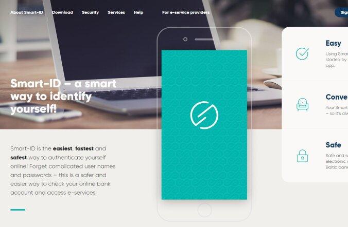 Uus isikutuvastamise vahend Smart-ID jõuab kasutusse