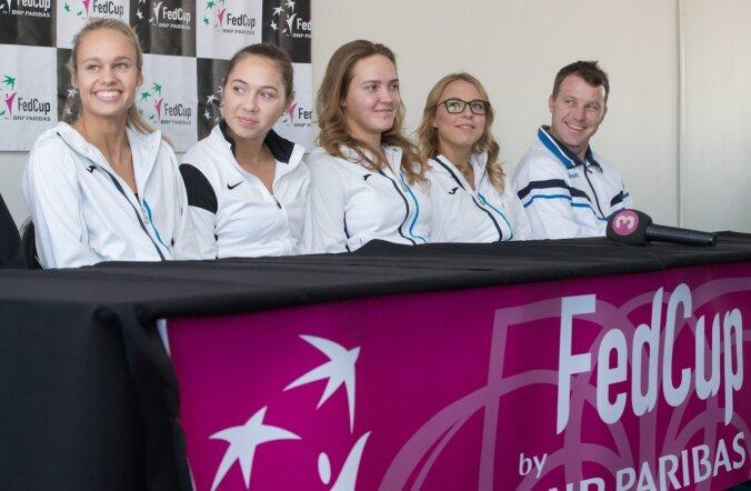 Tennise FedCup turniiri eelne pressikonverents