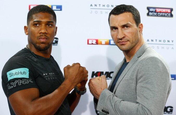 Anthony Joshua vs Vladimir Klitschko