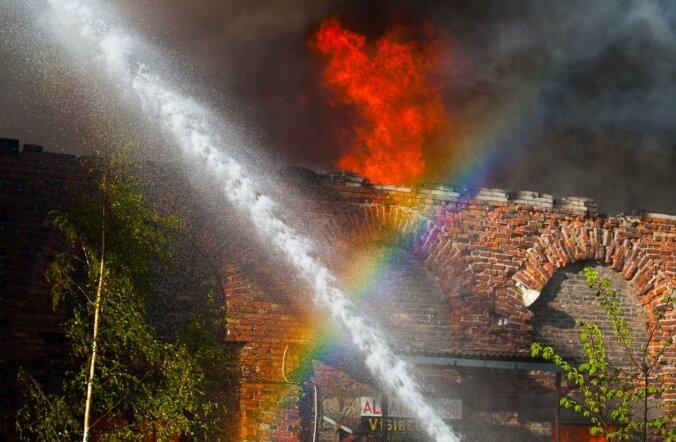 tulekahju Tööstuse tänaval