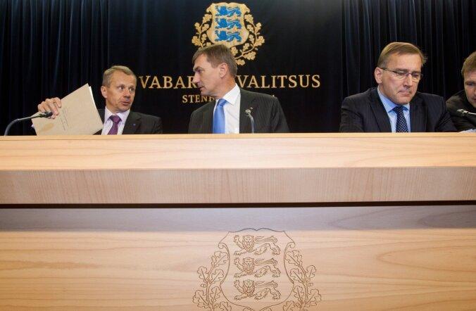 Andrus Ansip, Juhan Parts, Jürgen Ligi
