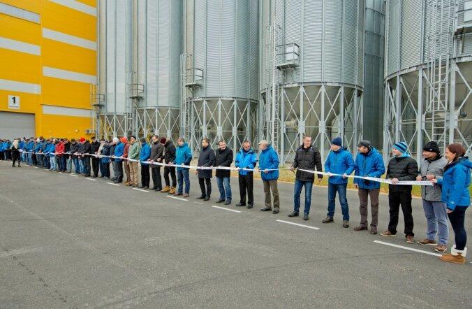 Rõngus avati pidulikult Lõuna-Eesti suurim, KEVILI viljaterminal