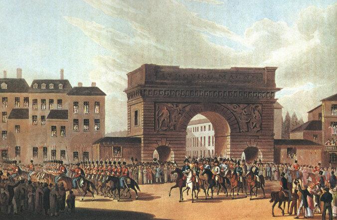 Kuidas Venemaa keiser 1814. aastal Pariisi ära võttis... Lahingut juhtis Barclay de Tolly