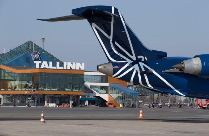 Nordica, Tallinna lennujaam