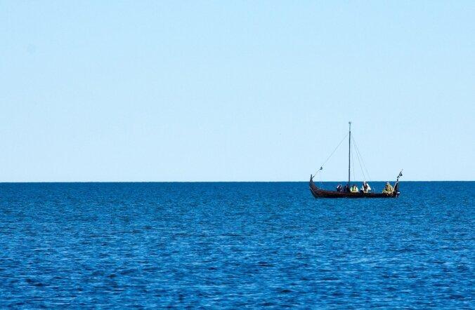 Viikinglaev seitsme viikingiga pardal randus Saaremaal Salme sadamas