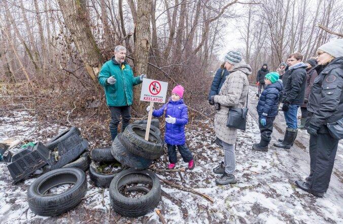 Tallinna noorteorganisatsioonid korraldasid koristusaktsiooni.