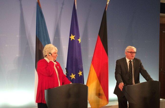 Kaljuranna kohtumine Steinmeieriga