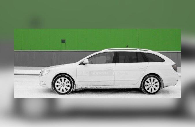 Škoda Superb Combi - lihtne auto ülbe ülesandega