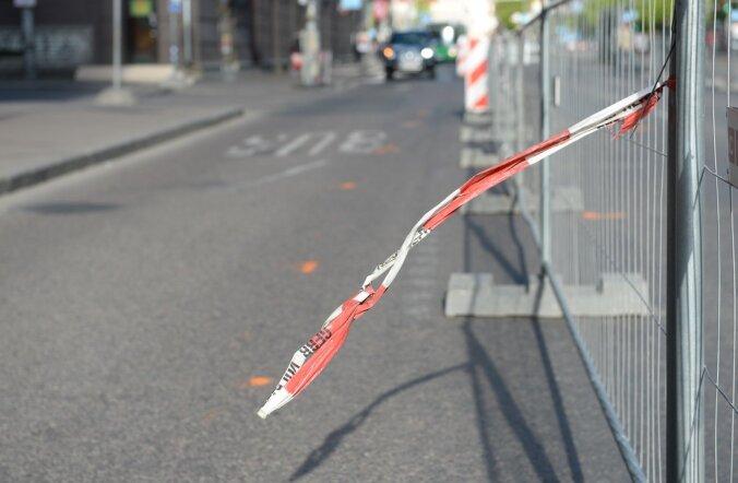 На столичной улице Одра начинается ремонт