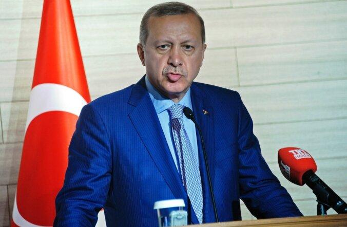 Türgi president Recep Tayyip Erdoğan