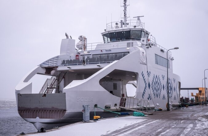 Nasval Baltic Workboatsi tehase kai ääres seisev parvlaev Soela on peaaegu valmis. Omanikule ehk majandusministeeriumile tuleb laev üle anda aprilli lõpuks.