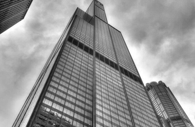 9 torniga väärikas Willis Tower on praegugi suur turismimagnet
